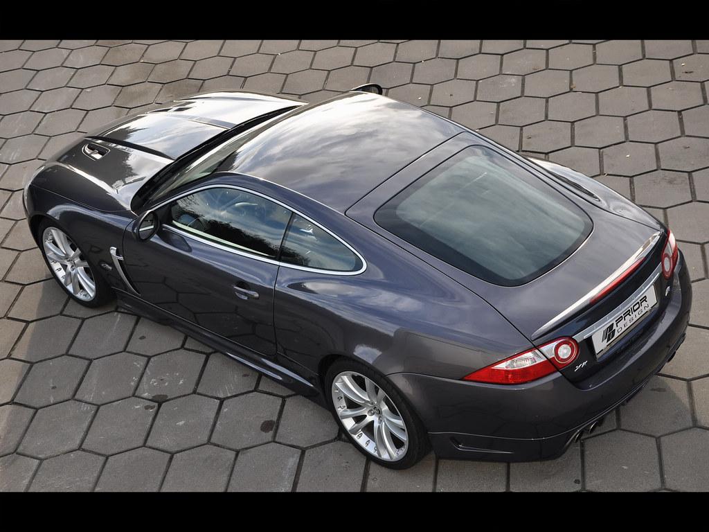 Prior Design Jaguar XK/XKR Aerodynamic full body kit | Flickr
