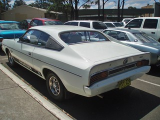 "1976 Chrysler VK Valiant Charger ""White Knight Special"""