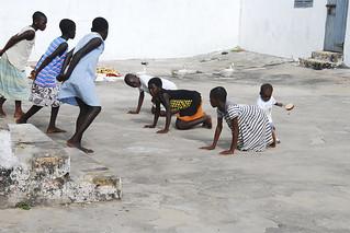 Volunteering work in Sunyani, Ghana