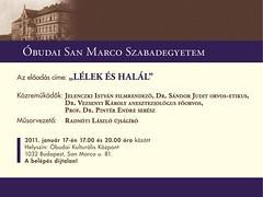 2011. január 9. 14:18 - San Marco Szabadegyetem: Lélek és halál