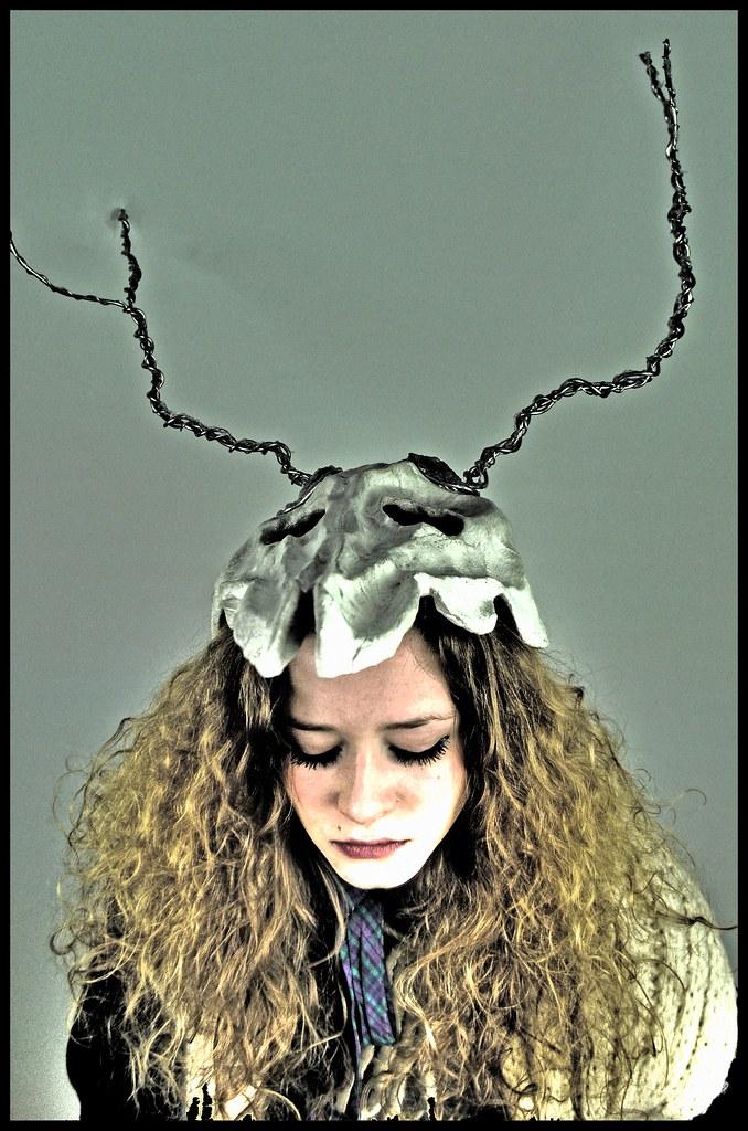 Deer Skull Headpiece HDR   High-Dynamic-Range edited photo u