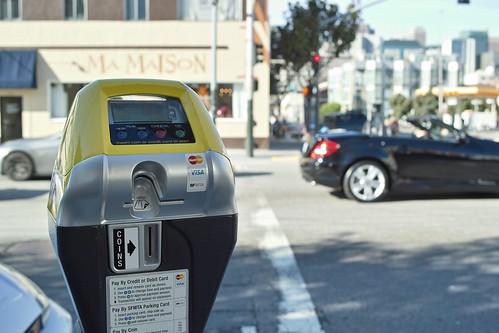 Smart parking meter   by Jun Seita