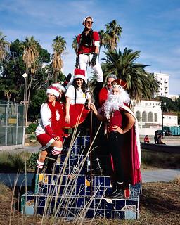 Pyramid of Santas