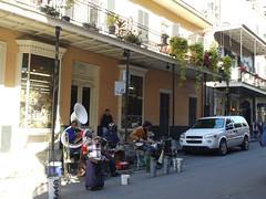 木, 2010-12-02 10:32 - ストリート・ミュージシャン French Quarter, New Orleans