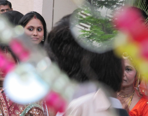 Glass Reflects Indian Wedding Scene (Part 1) | by everlutionary