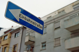 einbahnstrasse | by ain't looking for nothing