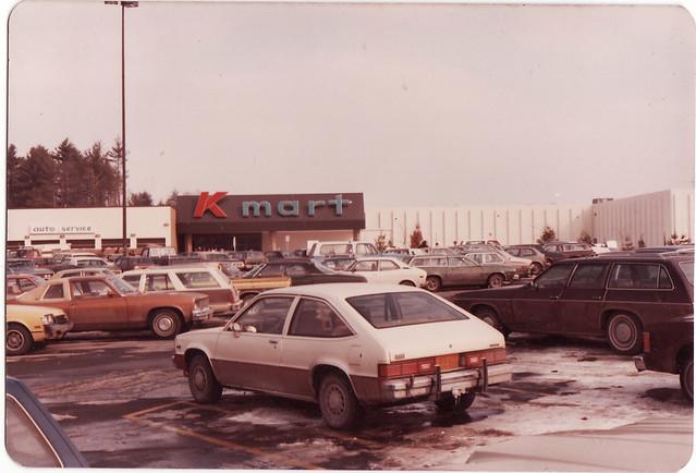 AT THE KINGSTON NY K MART IN DEC 1982