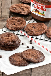 Nutella and Chocolate Chip Wafers