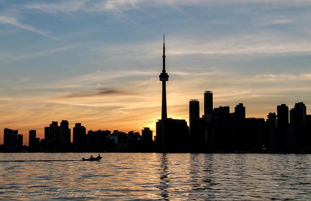 CN Tower Sunset