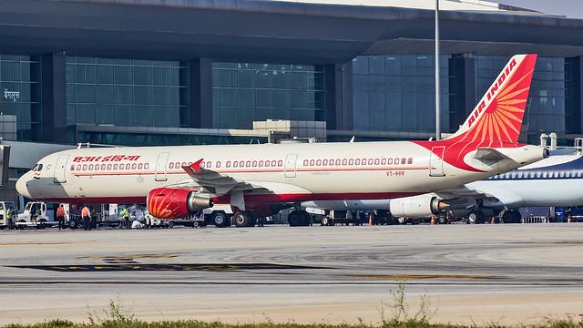 Air India Airbus A321 VT-PPF Bangalore (BLR/VOBL)