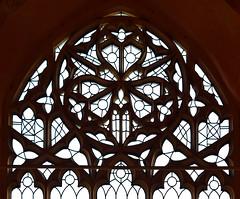 east window tracery