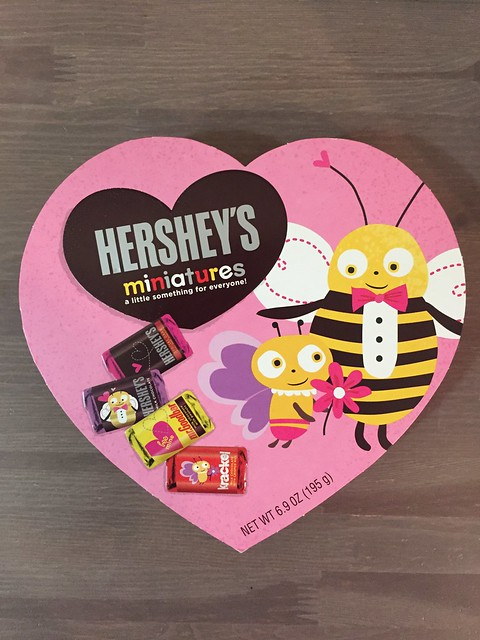 The only chocolate I bought in the abundance of 50-70% off Valentine goodies on clearance. 😂 Happy that my kids and I aren't really fond of candies and chocolates. But they like Hershey's after having been to the Hershey's world in PA. #mommyjsavings