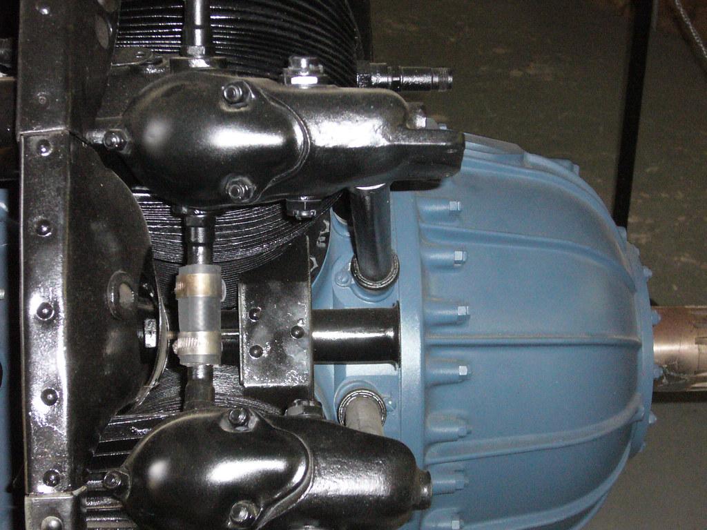CAC-built Pratt & Whitney R-1340 S1H1-G Wasp radial engine