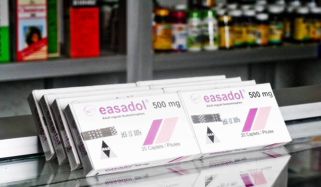 Easadol featuring scratch off codes | The analgesic Easadol