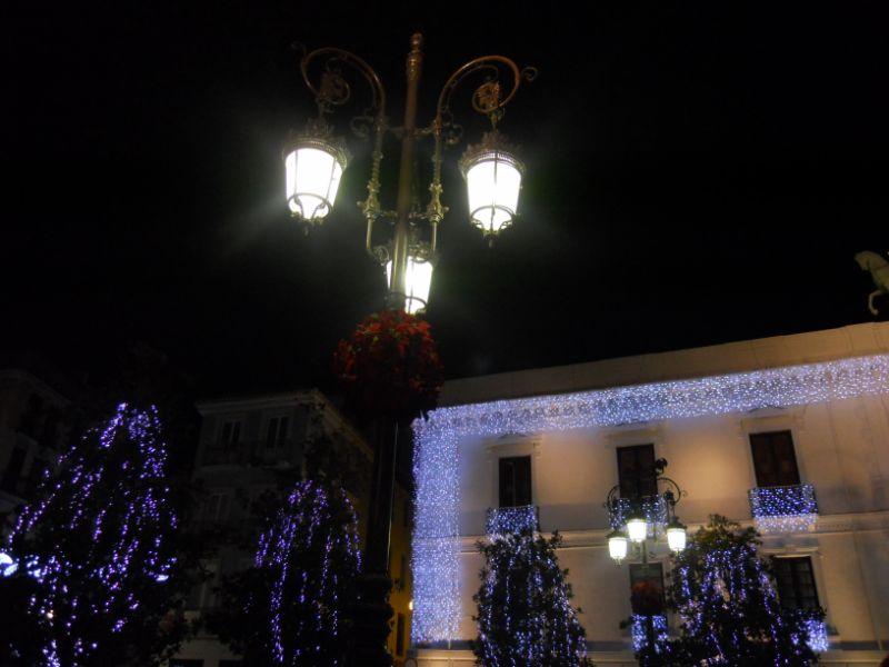 Iluminación navideña Granada