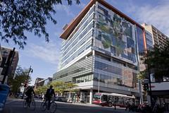 EV Building on Ste Catherine St at Concordia University