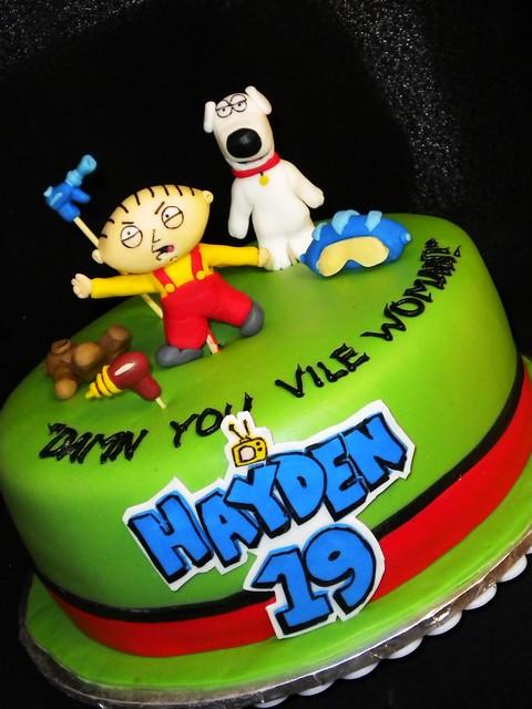 Stewie Family Guy Cake