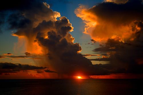 ocean sunset okinawa sunabe eastchinasea 沖縄 海