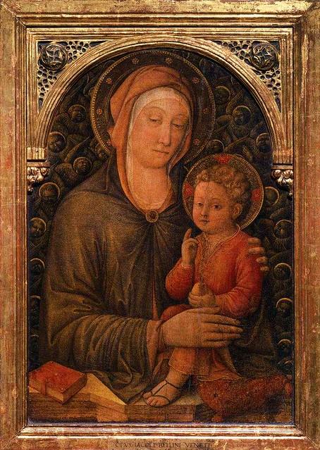 Jacopo Bellini - Madonna col bambino - Venice Accademia