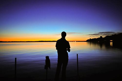 sunset night dark landscape landscapes nikon wideangle d300 sigma1020 owascolake nikond300 wwolf064