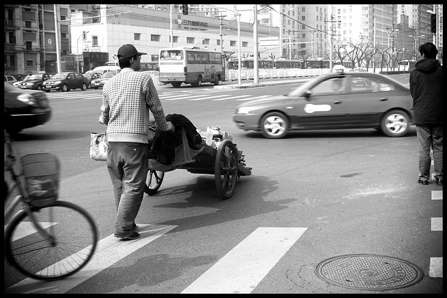 Walking through Chaoyang