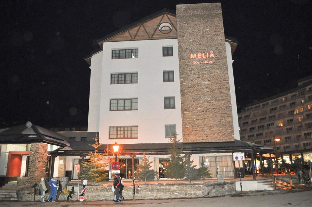 Hotel Melia Sol Y Nieve Sierra Nevada Granada Vista Ex Pablo Monteagudo Flickr