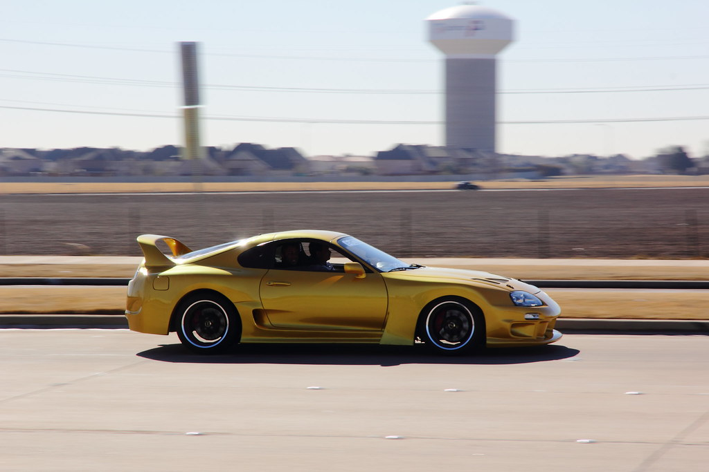 Toyota Supra Twin Turbo This Modified Supra Was Spotted Dr Flickr