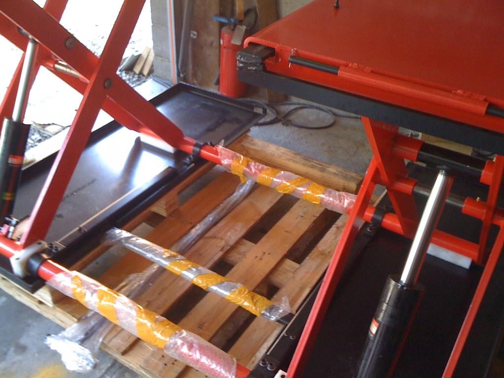 Verwonderlijk Vehicle scissor lift YDJ-3000B | OreikO | Flickr CH-49