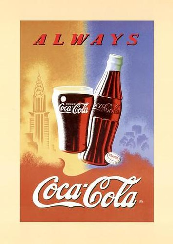 82. Coca Cola   by Ian Campbell Islip