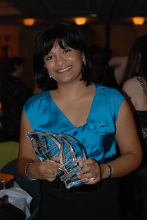 ARRC 2011: Nalini Singh with her award bling | by Book Thingo