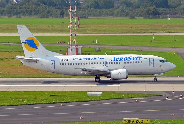 AeroSvit Airlines Boeing 737-5Q8 UR-VVQ