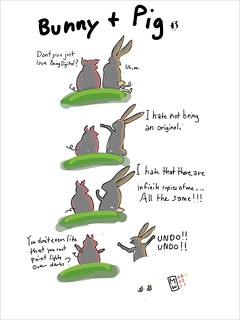 Being digital: Bunny and Pig (Adobe ideas) | by Matthew Watkins