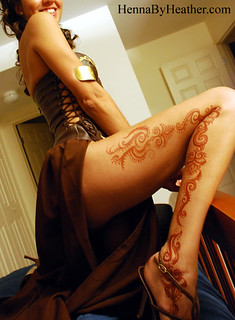 5_leg_gladiator_sexy_mehndi_halloween_costume | by Henna by Heather - serving Boston and Providence