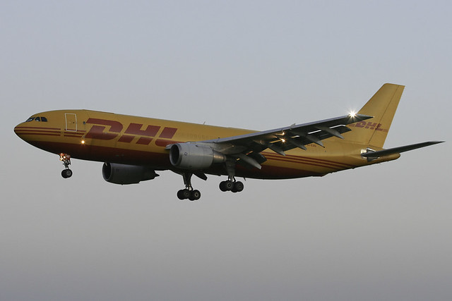 EI-EAD - 1983 build A300B4-203F operated by Air Contractors for DHL