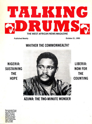 talking drums 1985-10-21 Azumah The two minute wonder
