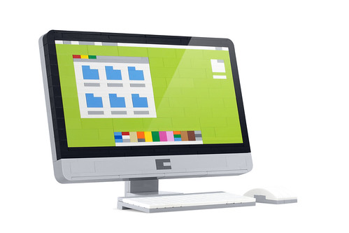 iMac (Lime)   by powerpig builds