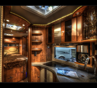 Camping Grand Luxe High End Motorhome Seen On The Cmt Fai Flickr