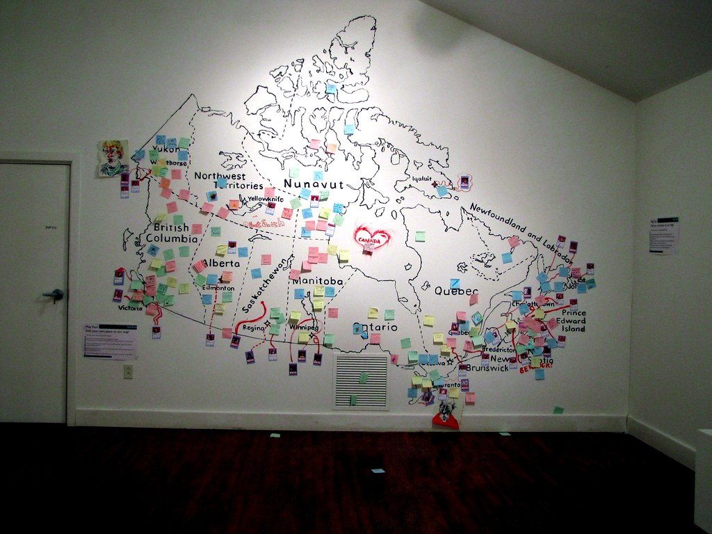 Map It Out Art Project
