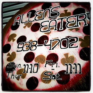 Allen's Eatery has good pizza. | by dziner