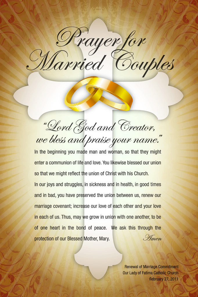 Prayer Card for Married Couples | Prayer Card for Married Co