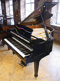 Essex EGP155 Baby Grand Piano For Sale with PianoDisc iQ Player System | by Besbrode Pianos Leeds