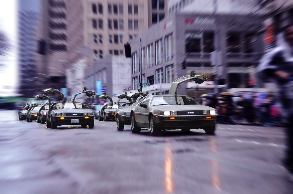 Back to the Future Seattle (DeLorean DMC-12)