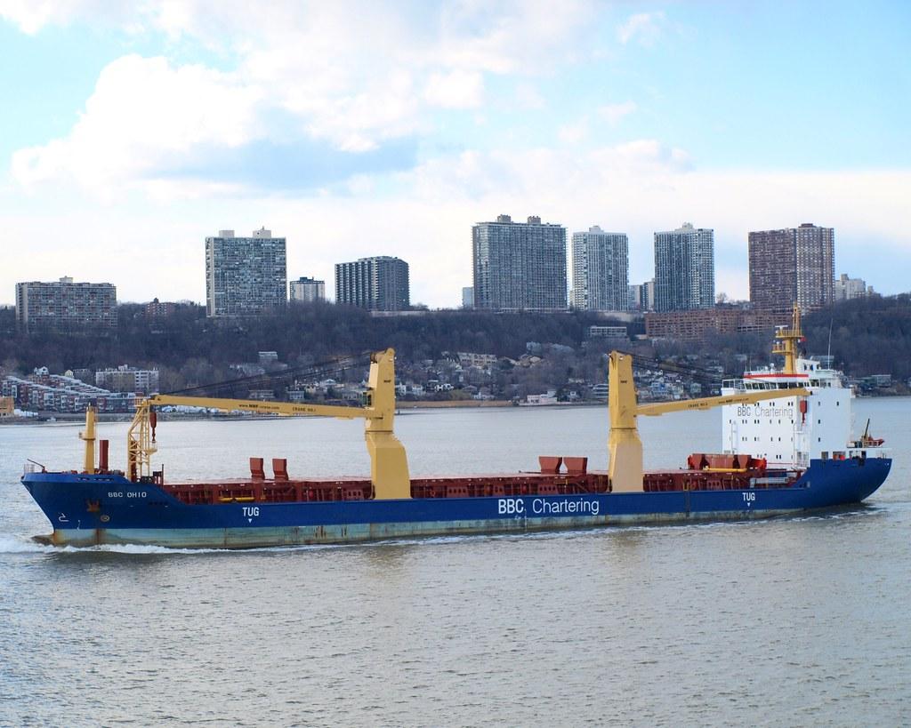 BBC OHIO Cargo Ship, Hudson River, New York   Build: 2009