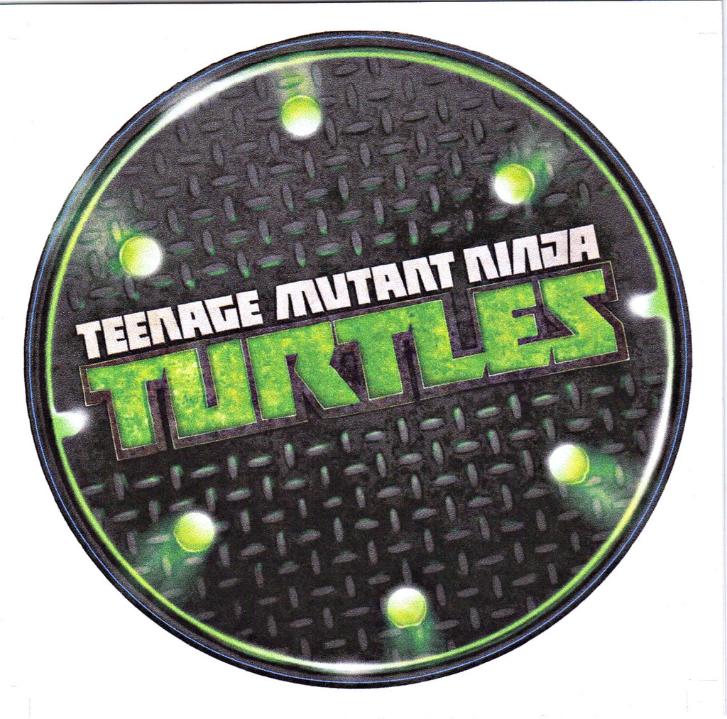 """Nickelodeon TMNT Fan Preview; """"FOUR BROTHERS PIZZA"""" // 'THANK YOU' CARD i (( 2011 )) by tOkKa"""