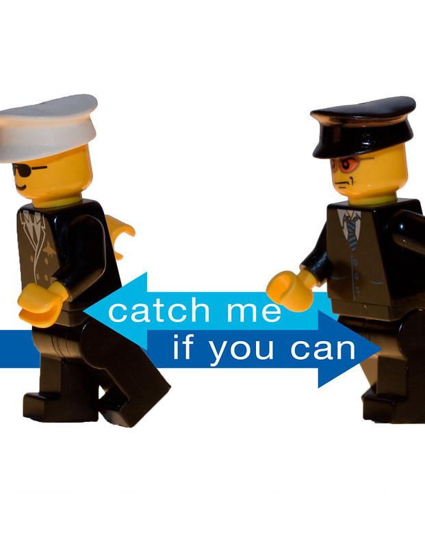 catch me if you can - lego