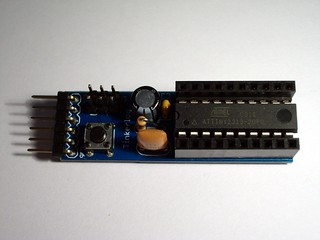 Tiny2313 header kit - modded