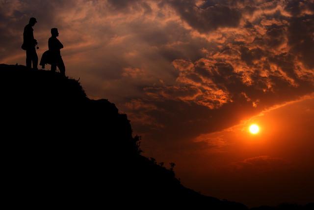 The sunset!!!!!!!!!!