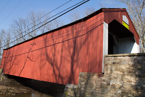 Pine Valley Covered Bridge   Built in 1842 of native ...