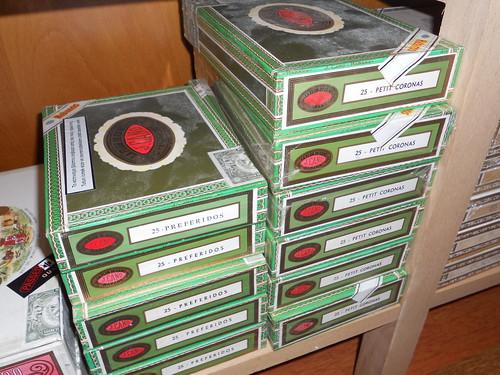 Boxes of La Flor De Cano