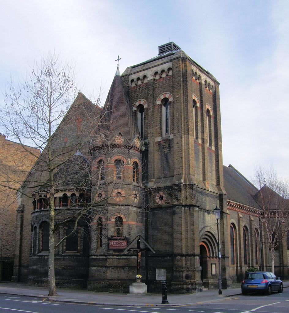 Notting Hill Ladbroke Grove st michael's church, ladbroke grove, notting hill - london